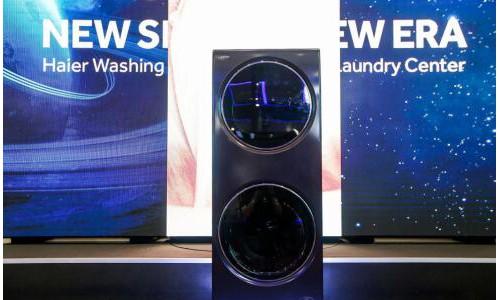 """广交会上1.5米的""""巨人""""洗衣机"""