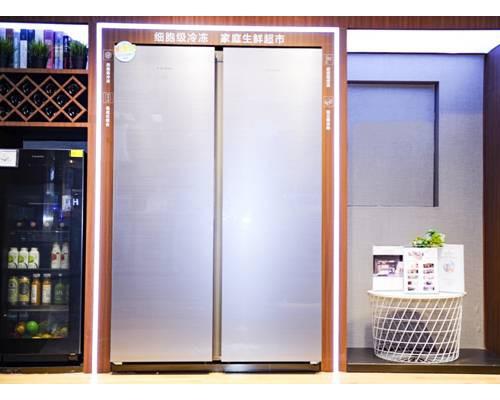 卡萨帝组合式冰箱依托食联网打造一站式家庭冷链生态