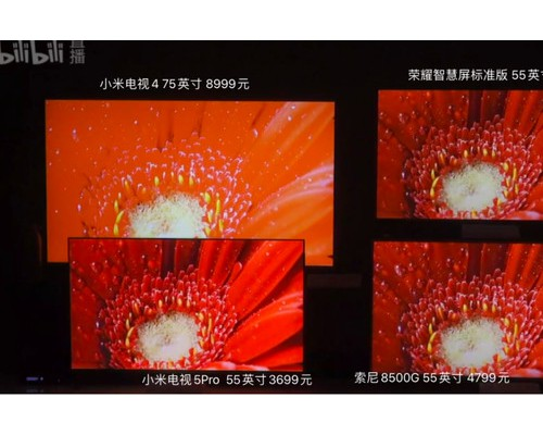 3倍价格最贵小米电视不敌荣耀智慧屏 尺寸难掩芯片之殇