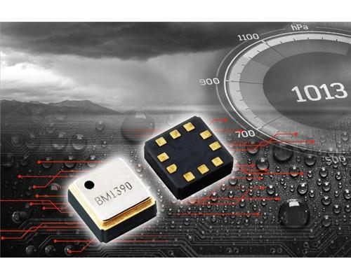 """ROHM开发防水等级达IPX8的小型高精度气压传感器IC""""BM1390GLV"""""""